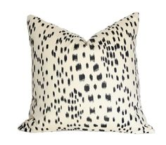 Les Touches Black Pillow Cover Single-Sided  by AriannaBelle