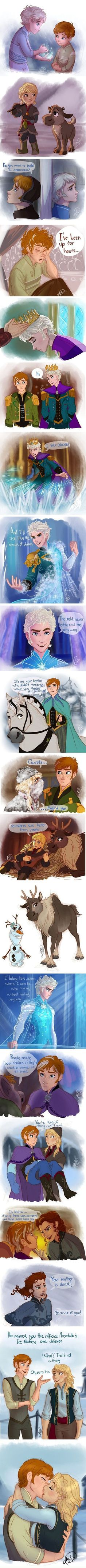 Gender bent Frozen. BEST THING EVER