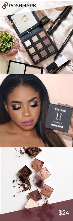 💟 RealHer Eyeshadow Palette Do Your Squats Brand new beautiful colors certifi... #beautiful #brand #certifi #colors #eyeshadow #palette #realher #squats Makeup Eyeshadow, Eyeshadow Palette, Cruelty Free, Squats, Fashion Tips, Fashion Design, Paraben Free, Cosmetics, My Favorite Things