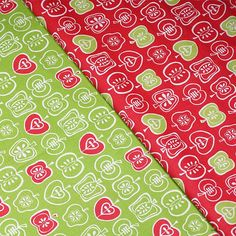 Teacher or Doctor's Apple Motif Self-Tie or Pre-Tied Bow Tie with Optional Matching Pocket Square