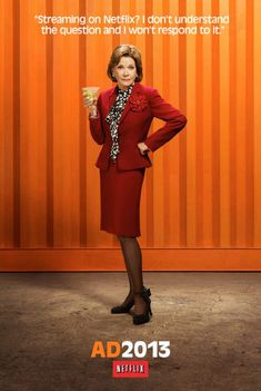 ARRESTED DEVELOPMENT - Posters, Photos, and MagazineCovers - Lucille Bluth