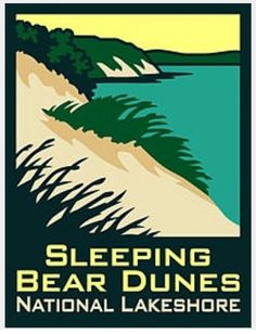 Anp Sleeping Bear Dunes National Lakes Pin Covering A Stretch Of Lake Michigan S Eastern Coastline Lakeshor