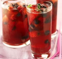 Cloudy Berry Pimm's. | 16 Splendid Summertime Pimm's Recipes