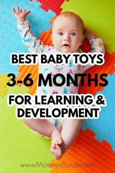 Looking for learning and development toys for your baby? See our picks for best toys for baby months old. Looking for learning and development toys for your baby? See our picks for best toys for baby months old. 4 Month Baby Toys, Best Baby Toys, Baby Month By Month, 6 Month Old Toys, Diy Baby Toys 3 Months, Baby Boys, Baby Play, Baby Monat Für Monat, Baby Lernen