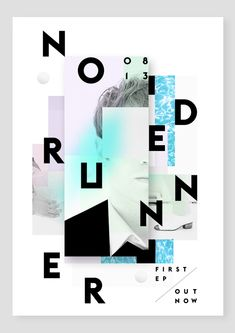 Node Runner Poster by Alain Vonck