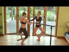 Sleek 15min body sculpting barre workout - YouTube