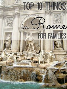 The eternal city of Rome, Italy, is a travel lovers delight. This list of 10 things to see and do in Rome for kids and families will help you make the most of your Roman holiday. | Italy Travel | Rome with kids