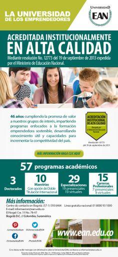 Estudia en la Universidad de los Emprendedores, acreditada en alta calidad por @mineducacion