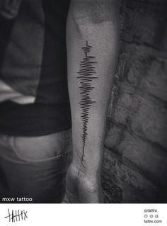 MXW Tattoo - Sound Wave for Athys