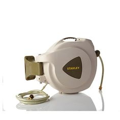 Shop Stanley Retractable Hose Reel with 65' Hose 7924094, read