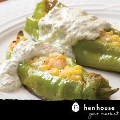 Stuffed New Mexico Hatch Peppers