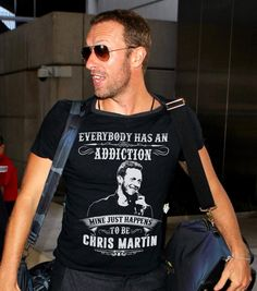 Ooh yeah. Im addicted to HIM! ❤ #ChrisMartin #Coldplay