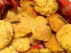 Butternut Squash and Fresh Sage Cornbread Madeleines