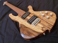 Handmade Six String Electric Guitar: The Highline Griffon