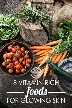 These vitamin rich foods will create a glowing complexion, from the inside out! Eat these foods and experience clearer skin.
