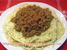 Μακαρόνια με κιμά (μπολονέζ) - Τα φαγητά της γιαγιάς
