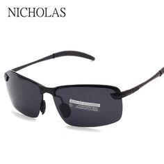 b32c6f6ba3ed Brand Driving Fishing Sport Polarized Sunglasses Men glasses Metal Frame  Sun glasses For Men Eyewear Oculos Gafas De Sol-in Sunglasses from Men s  Clothing ...