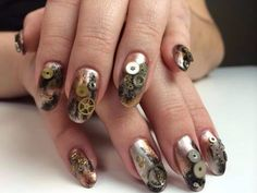 Nail Art #badassnails #want #badass