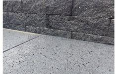 Wallblock split antraciet 10x10x40 cm