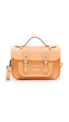 CAMBRIDGE SATCHEL Mini Satchel. #cambridgesatchel #bags #shoulder bags #hand bags #leather #satchel #