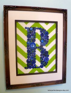 Baby Boy Nursery Wall Art Children Wall by letterperfectdesigns, $60.00 DIY this project with cute scrapbook paper, fun buttons & a simple frame with matting