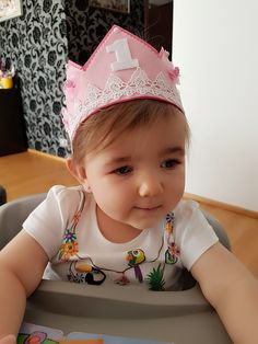 1st bday crown