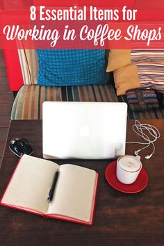 Coffee shops are great for focus and inspiration. But making your home office mobile in order to be productive away from home needs a little planning. This list of 8 essential items will help you to make the most of your coffee shop work session.