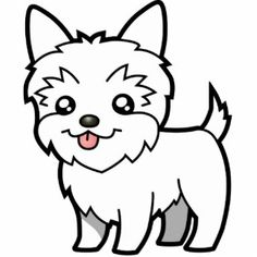 Teacup Yorkie Coloring Pages Coloring Pages Yorkie Coloring Page