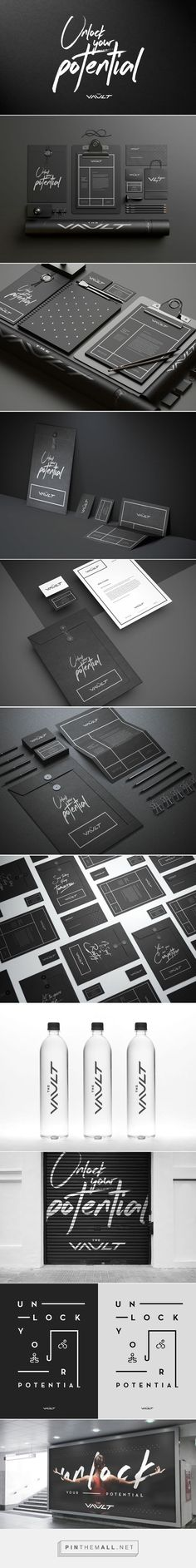 The Vault Branding on Behance | Fivestar Branding – Design and Branding Agency & Inspiration Gallery