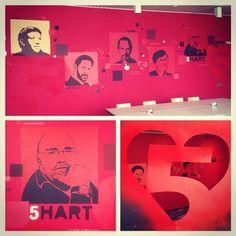 Lokatie3 van de #5hart #muurschilderingen.EGD in #Velp #Oprichters #RoodOpRood #vijfhart