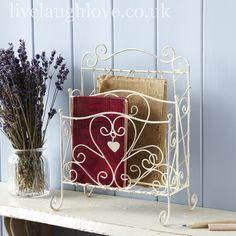 Wire Work Letter Rack £14.95