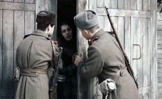 """A scene from the film """"Ordered to Forget"""", a movie about how the Soviets forcibly deported the whole Chechen nation and the related Ingush group from their homeland in the North Caucasus to Central Asia in the winter of 1944 (AFP Photo/) ▼27May2014AFPviaYahoo!News