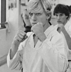 Karate Boy, The Karate Kid 1984, Karate Kid Movie, Karate Kid Cobra Kai, Ralph Macchio, Cobra Kai Wallpaper, Old School Movies, William Zabka, Jacob Bertrand