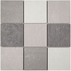 £7.95   This inspiring collection of Porcelain Mosaics from Italy offers quality , style and individuality. Choose from a selection of tones to enhance and transform any living area. Matching tiles are avilable in sizes 30cm x 60cm and 60cm x 60cm