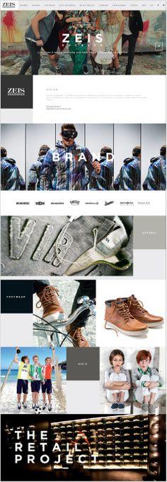 Cool Web Design, ZEIS. #webdesign #webdevelopment [http://www.pinterest.com/alfredchong/]