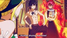 Reason 683 why I wish I had Natsu as my friend - Human Drying Machine
