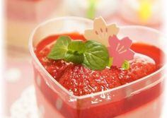 Diet-Friendly Easy Strawberry & Tofu Pudding for Doll's Festival