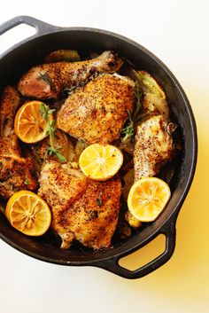 Lemon Roasted Chicke