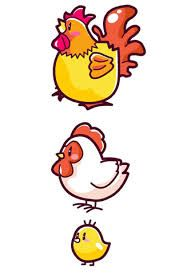 Cute ink uncolorful rooster tattoo | tattoos | Pinterest ... |Cute Chicken Tattoos
