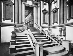 Michelangelo's Staircase for the Laurentian Library--they even let you walk on them!