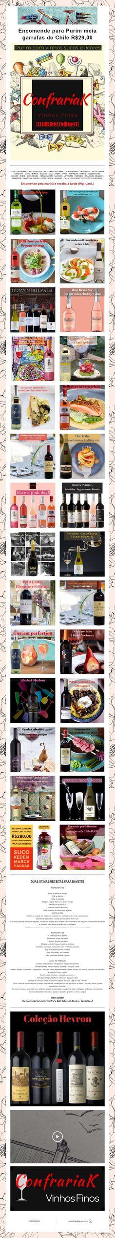 Encomende para Purim meia garrafas do Chile R$29,00 Chile, Wine Pairings, Sock, Bottles, Chili