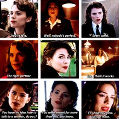 Peggy Carter quotes - She is always so confident, she knows what to do, she's not afraid of anything, she's ready to face the world. And that's why she's awesome.
