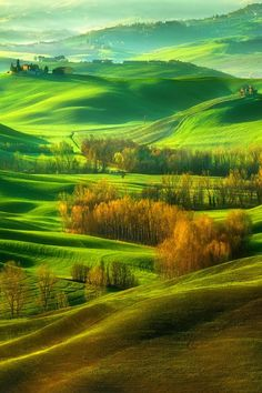 Val d'Orcia ~ Tuscany, Italy, province of Siena
