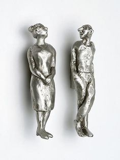 People Pulls by Rosalie Sherman: Metal Pull available at www.artfulhome.com