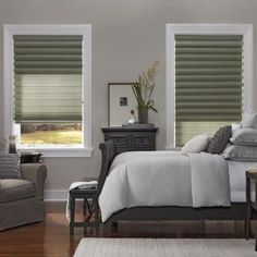 Top 10 Window Coverings of 2013: Roman Pleat Shades with Tandem Liner