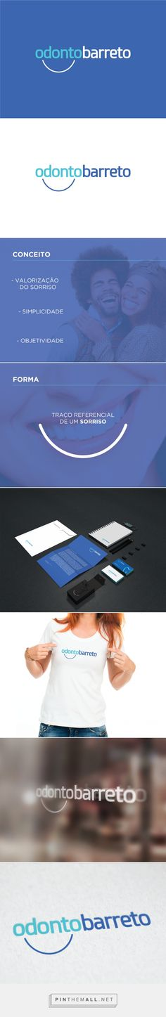 Odonto Barreto - Logo on Behance... - a grouped images picture - Pin Them All