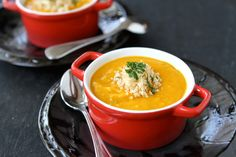 Roasted Sweet Potato & Quinoa Soup