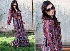 Beautiful maxi dress | Wearing It On My Sleeves
