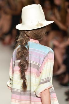 Hair inspiration: the desert braid from the Mara Hoffman runway |  Because I'm Addicted