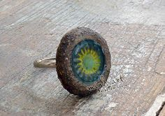 Made of clay: ring